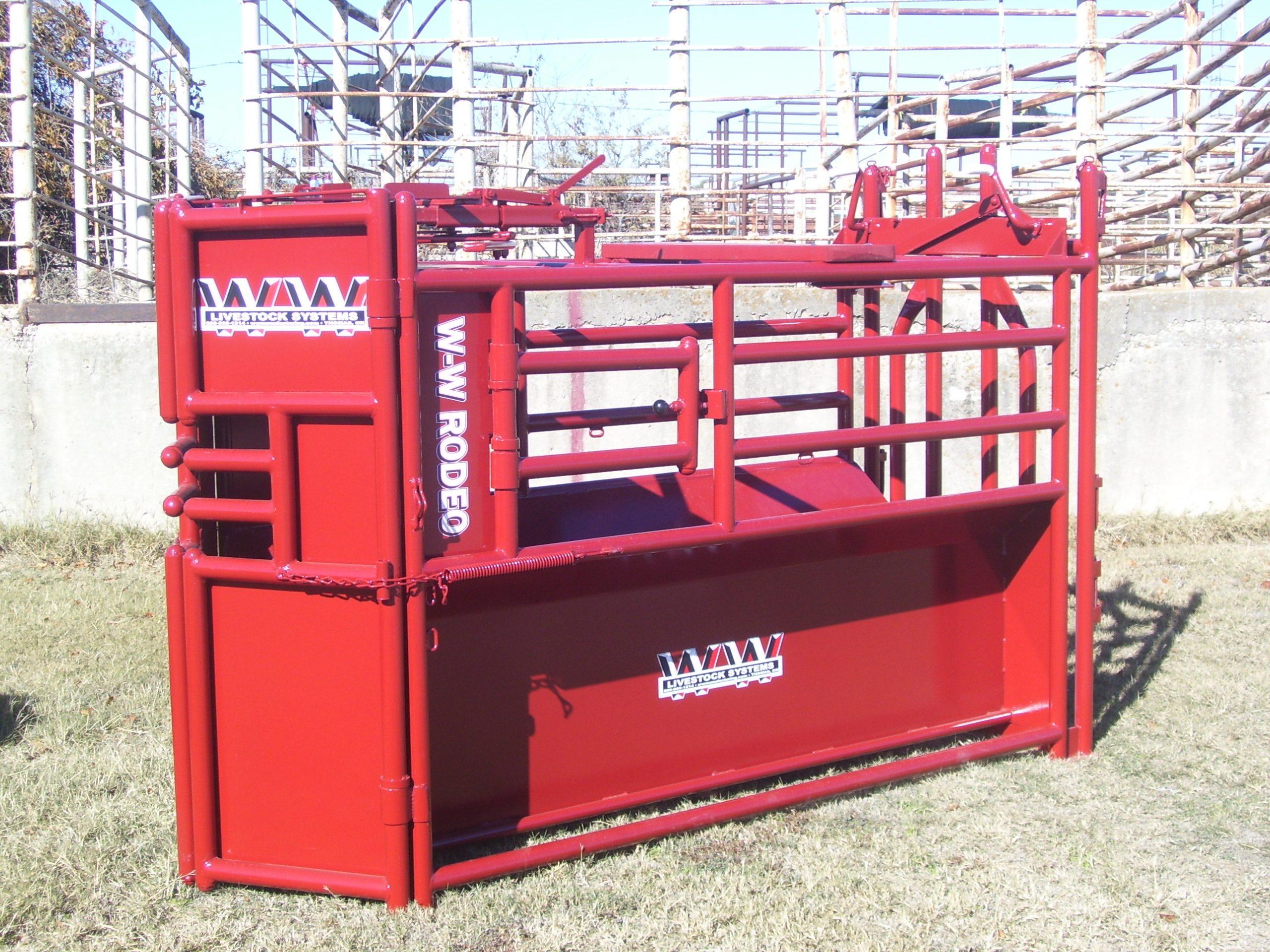 rodeo-roping-chute