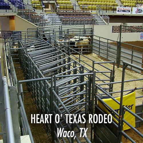 Heart O' Texas Rodeo - Waco, TX-WEB