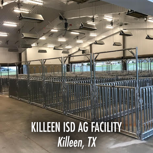 Killeen ISD Ag Facility - Killeen, TX-WEB