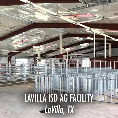 LaVilla ISD Ag Facility - LaVilla, TX-WEB